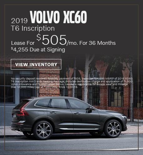 New 2019 Volvo XC60 T6