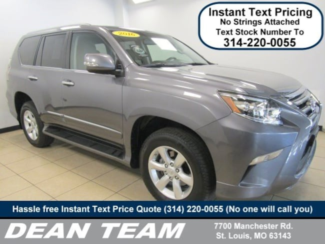 used 2016 lexus gx 460 for sale in st. louis mo | near