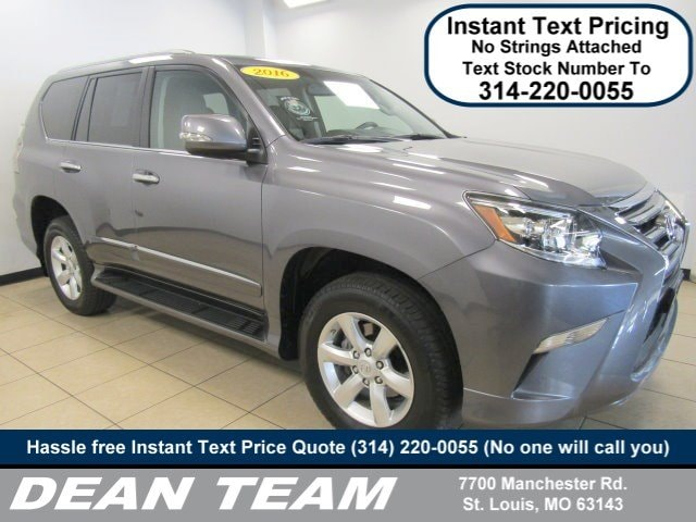 Use3d 2016 LEXUS GX 460 4WD 4dr 4WD In St. Louis MO