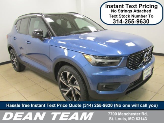 New 2019 Volvo XC40 T5 R-Design SUV For Sale/Lease St. Louis MO