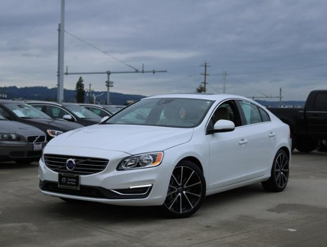 Featured Pre Owned 2016 Volvo S60 T6 Drive-E FWD Sedan for sale near you in Burlingame, CA