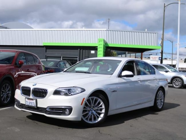 Used 2015 BMW 5 Series Activehybrid 5 RWD Sedan Burlingame