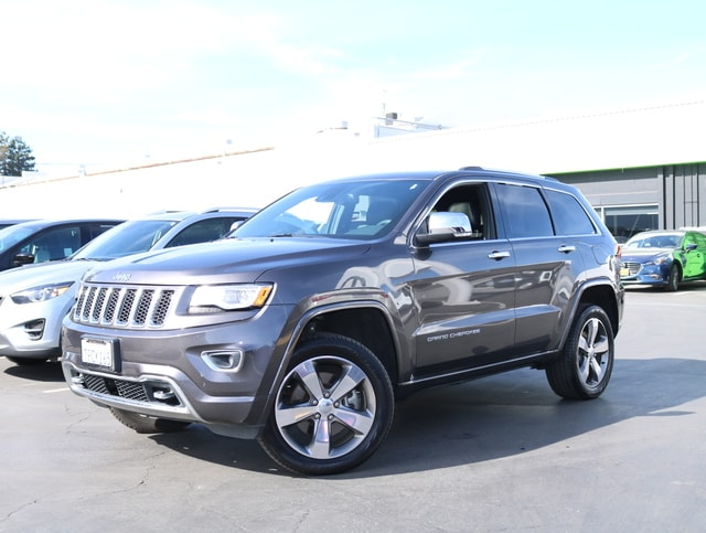 Featured Pre Owned 2015 Jeep Grand Cherokee 4WD  Overland SUV for sale near you in Burlingame, CA