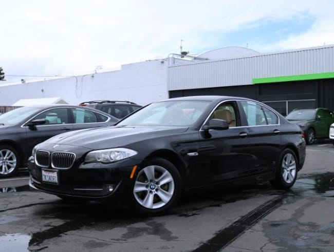 Used 2013 BMW 5 Series 528i RWD Sedan Burlingame