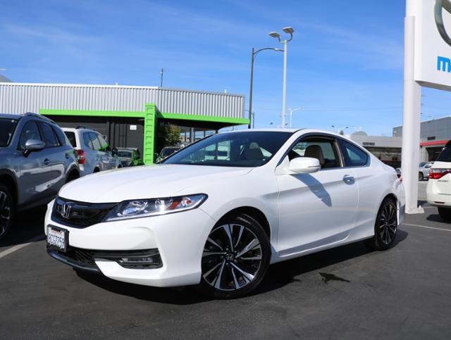 Featured Pre Owned 2017 Honda Accord Coupe EX-L CVT w/Navi & Honda Sensing Coupe for sale near you in Burlingame, CA