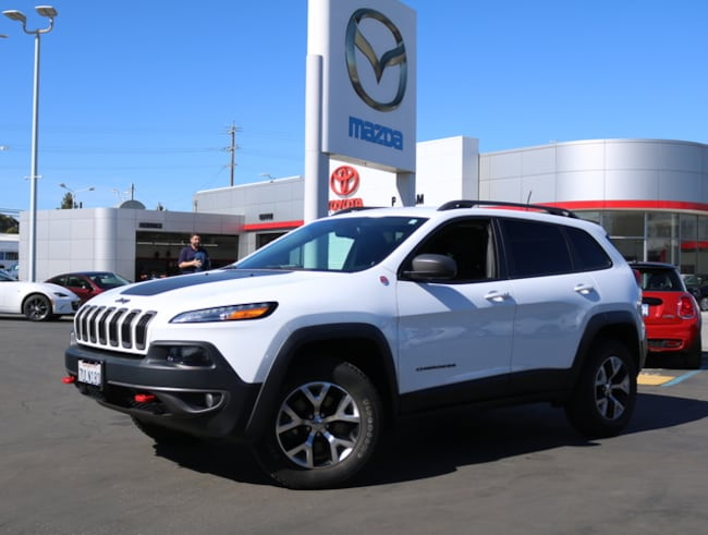 Used 2016 Jeep Cherokee 4WD  Trailhawk SUV Burlingame