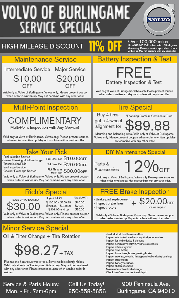 image diagnosis c coupon service maintenance coupons idea specials car volvo