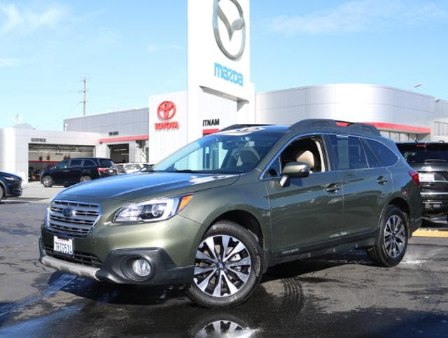 Featured Pre Owned 2016 Subaru Outback 2.5i Limited Pzev SUV for sale near you in Burlingame, CA