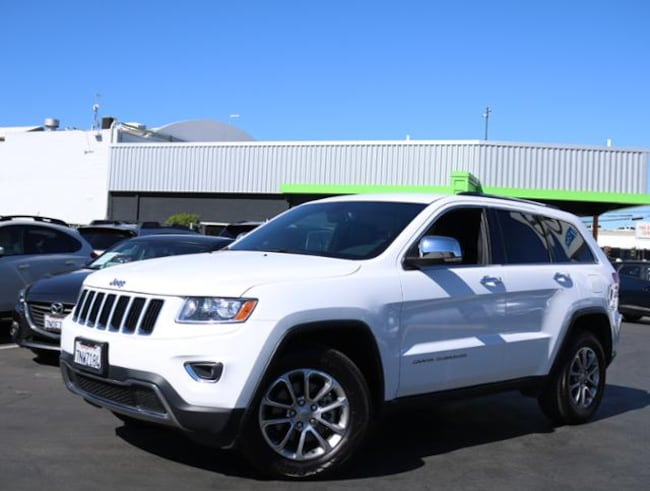 Used 2015 Jeep Grand Cherokee 4WD  Limited SUV Burlingame