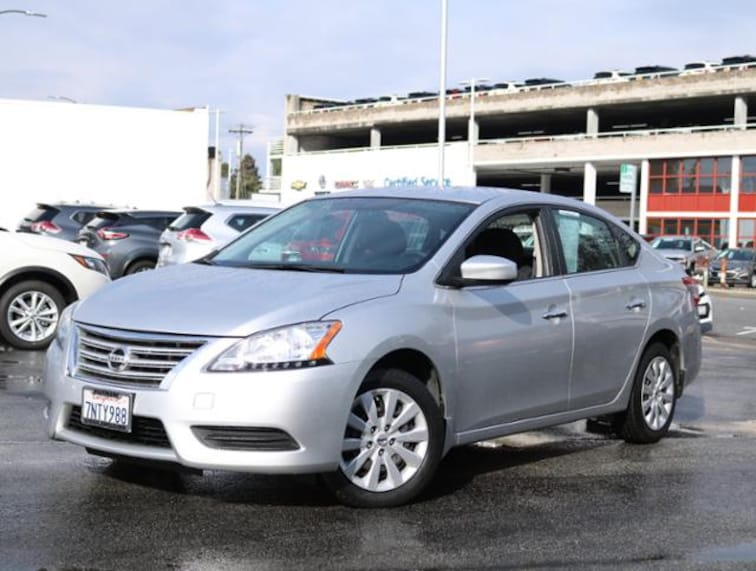 Used 2015 Nissan Sentra I4 CVT S Sedan Burlingame