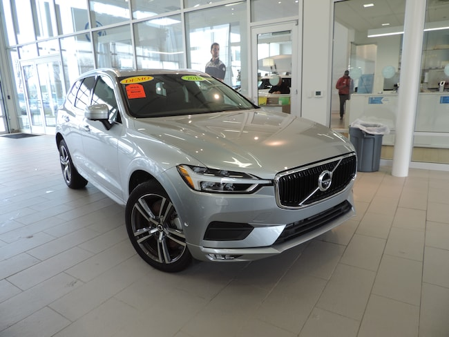 Pre-Owned 2018 Volvo XC60 T6 AWD Momentum SUV YV4A22RK5J1009607 for sale in Burlington, NC at Volvo Cars Burlington