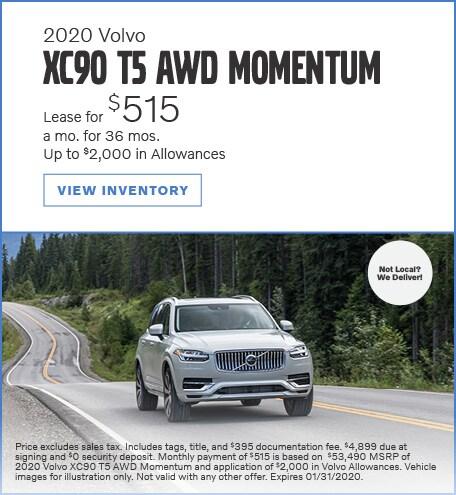 2020 Volvo XC90 AWD Momentum