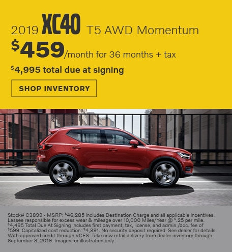 August | 2019 Volvo XC40