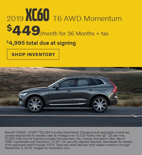 August | 2019 Volvo XC60