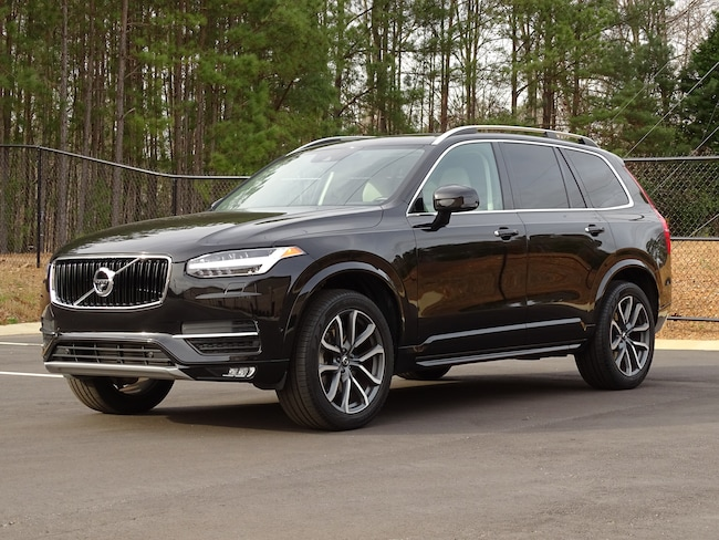 new 2017 volvo xc90 for sale at volvo cars of cary vin. Black Bedroom Furniture Sets. Home Design Ideas