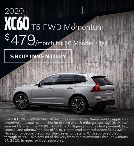 2020 Volvo XC60 Offer - January