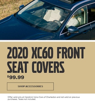 2020 XC60 Front Seat Covers