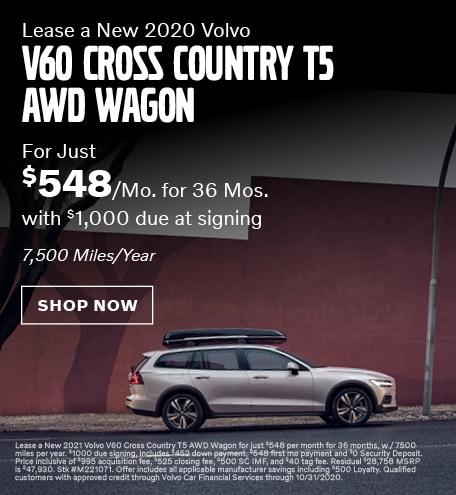 New 2020 Volvo V60 CC