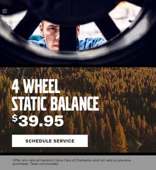 4 Wheel Static Balance