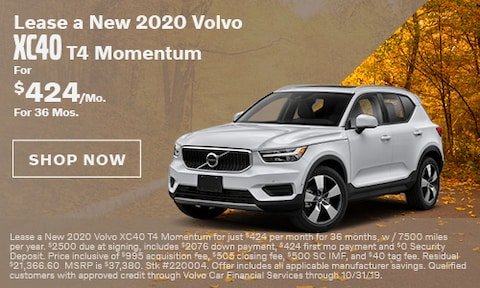 Lease a New 2020 Volvo XC40 T4 Momentum