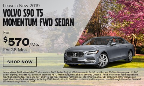 Lease a New 2019 Volvo S90 T5 Momentum FWD Sedan
