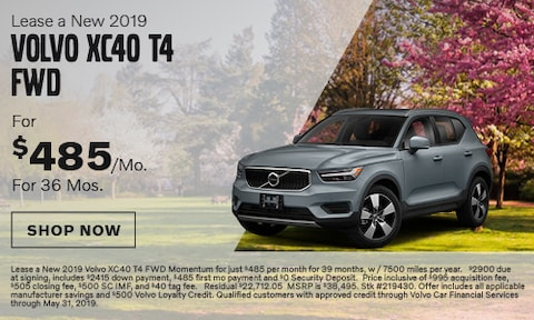 Lease a New 2019 Volvo XC40 T4 FWD