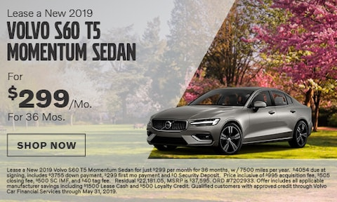 Lease a New 2019 Volvo S60 T5