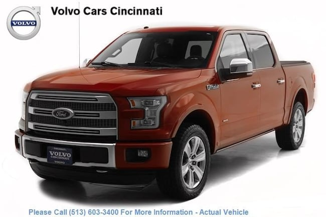 Used 2016 Ford F-150 Platinum near Hamilton OH
