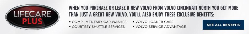 Volvo Cincinnati North Exclusive Benefits