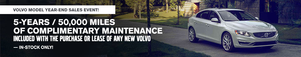Volvo Model year End Clearance