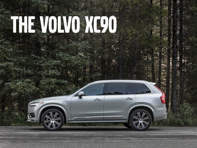Silver 2020 volvo XC90 T5 Momentum for lease in South Florida