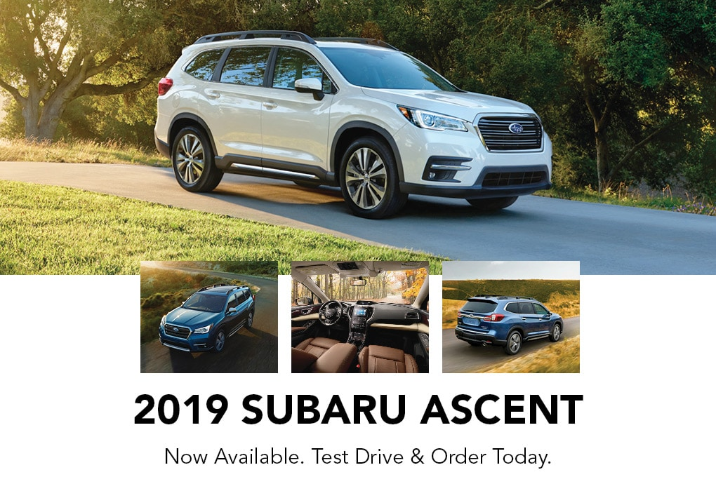 2019 Subaru Ascent at Jim Pattison Subaru Coquitlam