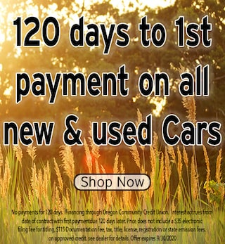 120 Days to First Payment Special