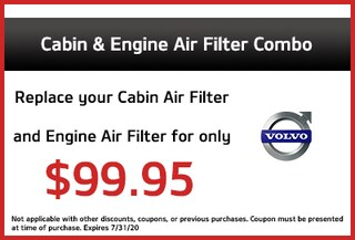 Cabin & Engine Air Filter Combo