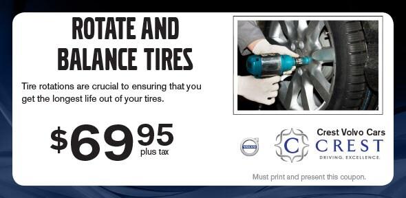 Rotate Balance Tires Service Coupon Plano Tx