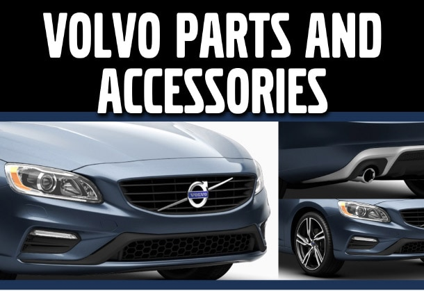 Volvo Parts and Accessories Header