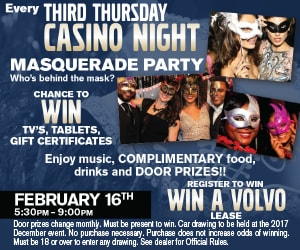 Crest Volvo Cars Casino Night Feb 2017