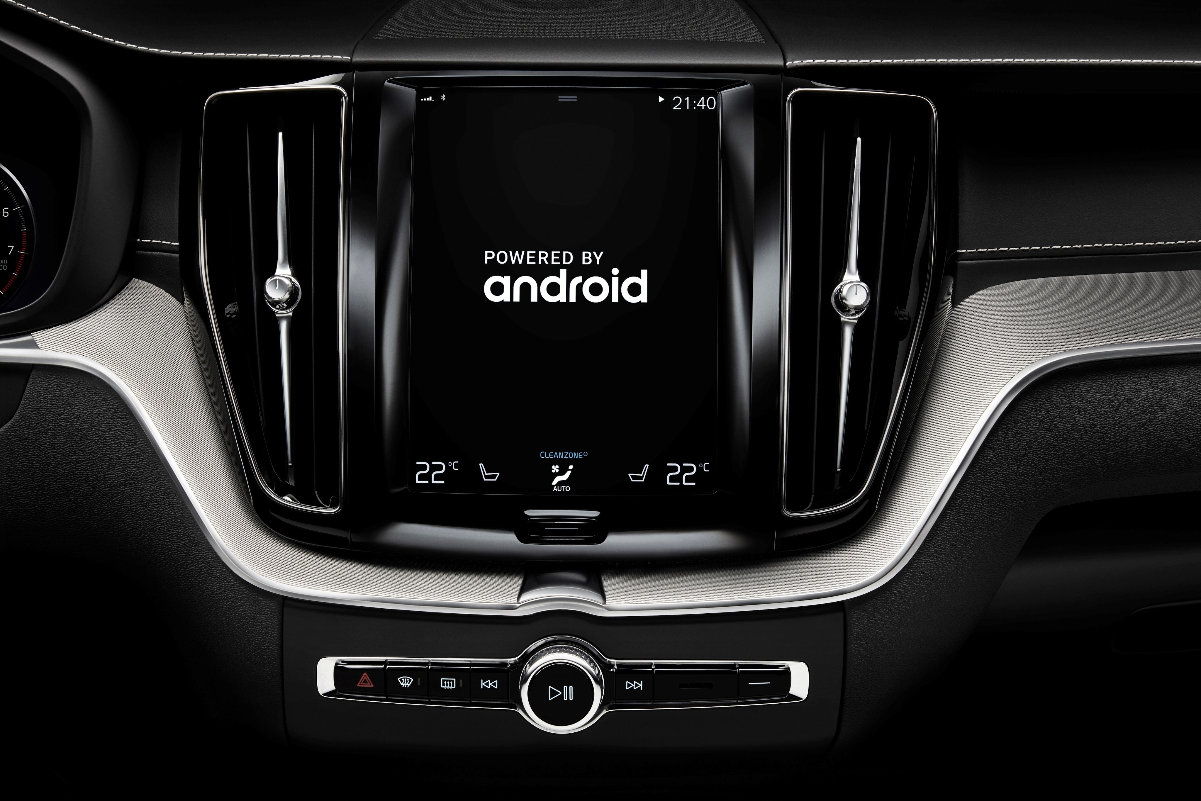 Volvo Android infotainment system