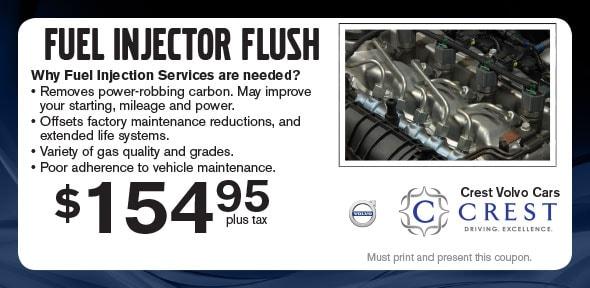 Fuel Injection Service Coupon | Volvo Service Specials