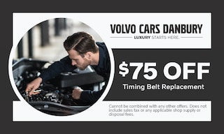 $75 off timing belt replacement