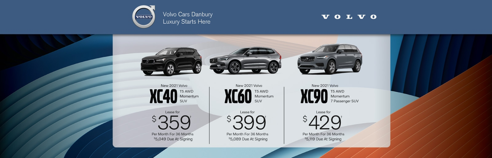 Volvo Lease Deal Image