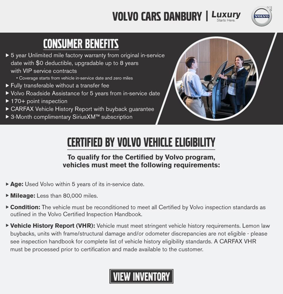 Volvo Of Danbury >> Certified Pre Owned Volvo Cars In Danbury Ct Volvo Cars