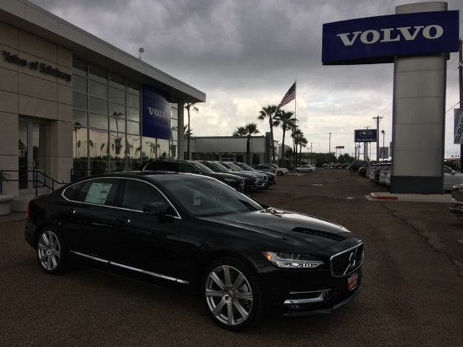 New 2019 Volvo S90 T6 Inscription Sedan in Edinburg, Texas, at Volvo of Edinburg