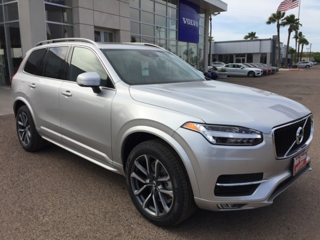 New 2019 Volvo XC90 T6 Momentum SUV in Edinburg, Texas, at Volvo of Edinburg
