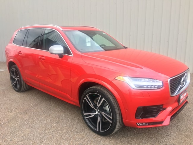 New 2019 Volvo XC90 T6 R-Design SUV in Edinburg, Texas, at Volvo of Edinburg