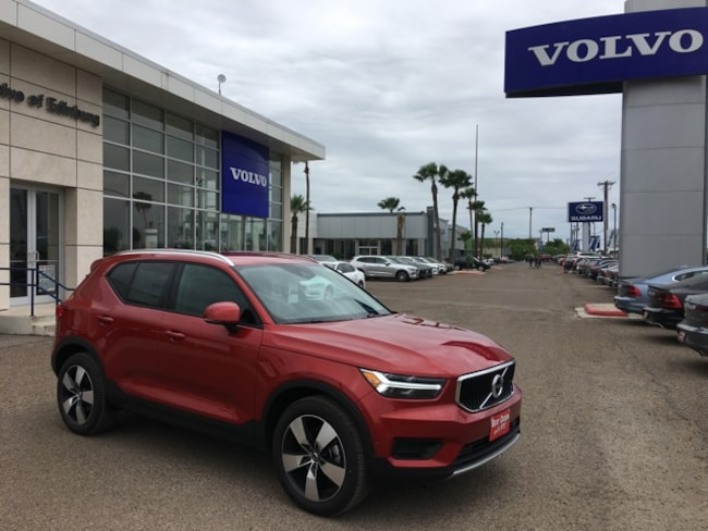 New 2019 Volvo XC40 T5 Momentum SUV in Edinburg, Texas, at Volvo of Edinburg