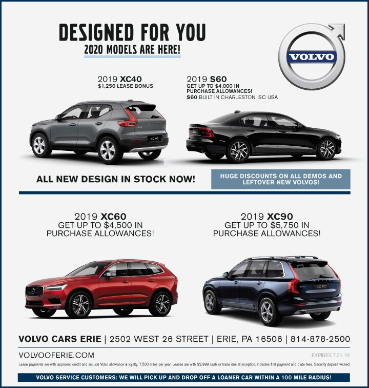 Current Ad | Volvo Cars Erie