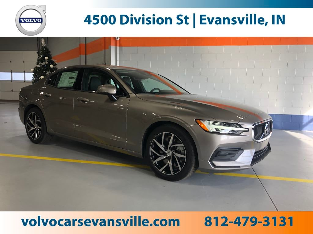 New 2019 Volvo S60 T6 Momentum Sedan for Sale in Evansville, IN, at Magna Motors