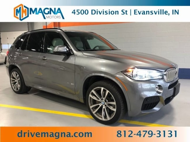 Used 2016 BMW X5 xDrive50i SAV for sale in Owensboro
