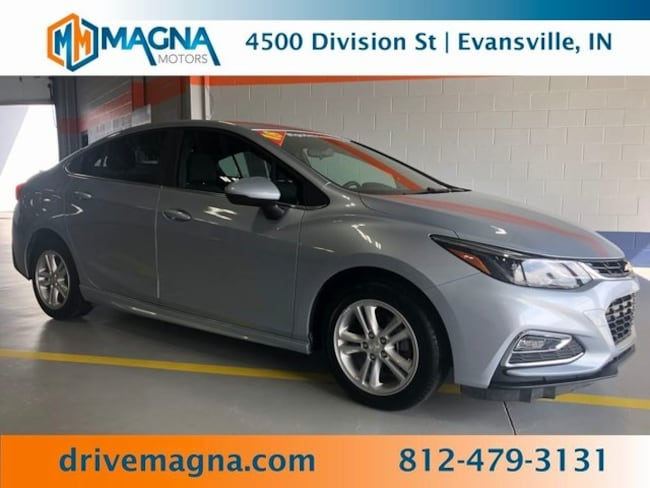 Used 2018 Chevrolet Cruze LT Auto Sedan for sale in Owensboro